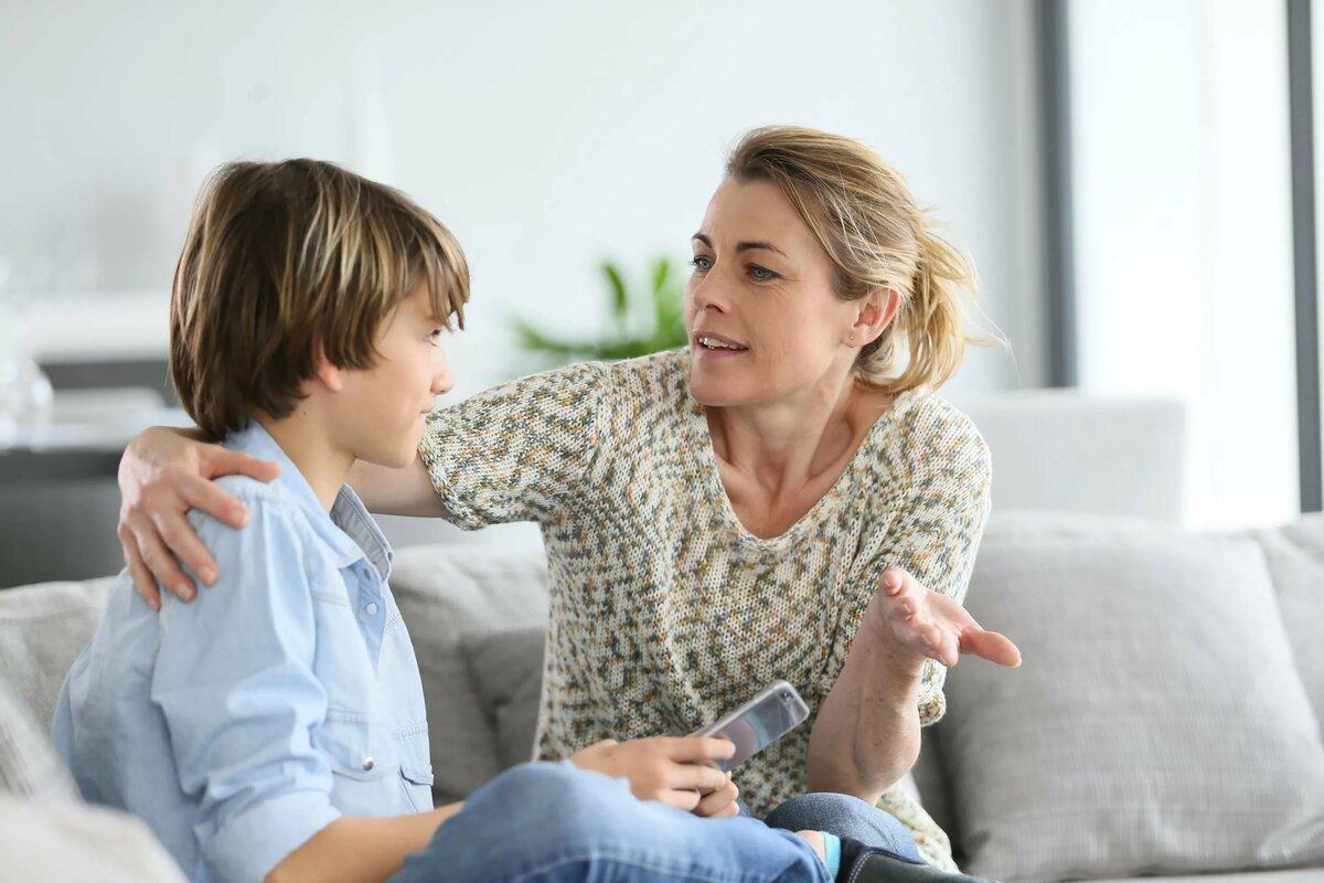 Внимание к детям-подросткам и время для общения с ними